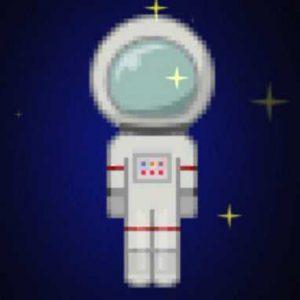 宇宙飛行士のスキン